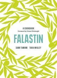 Falastin: A Cookbook by Sami Tamimi and Tara Wigley.